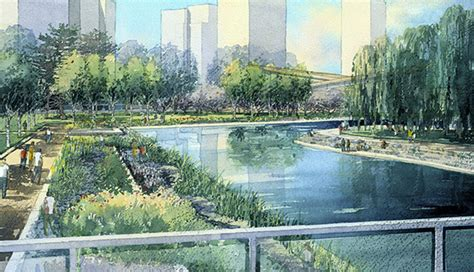 Landscape Architect Who Designed Central Park Landscape Design Kpf New Songdo City Central Park I On