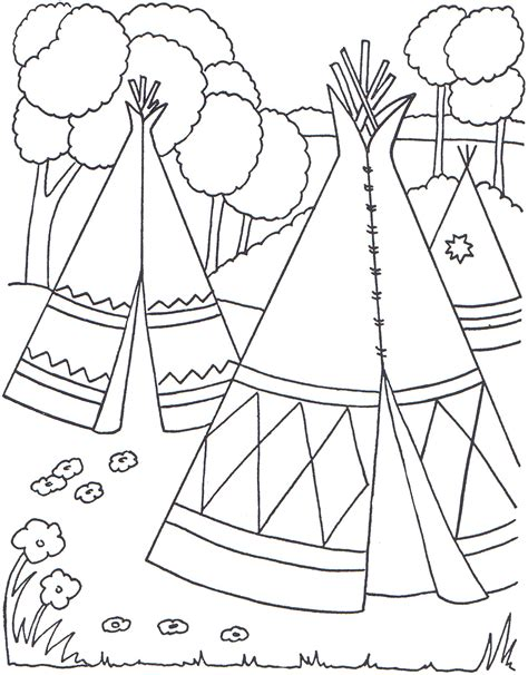 Native American Coloring Pages Best Coloring Pages For Kids Color For