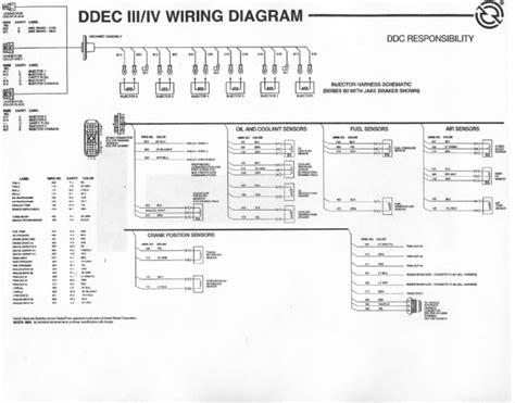 ddec ii ecm wiring diagram ddec iv ecm wiring diagram