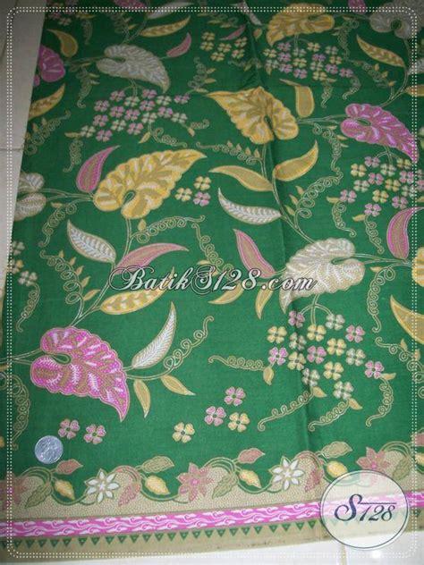 kain batik motif daun talas motif batik elegan dan