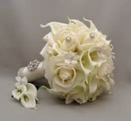silk flowers for wedding wedding bouquets silk flowers