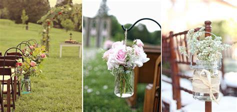 Wedding Aisle Jars by Jar Wedding Ideas Simply Peachy Event Design