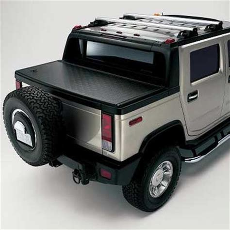 hummer parts hummer h2 locking tonneau cover by gm 12499433 hummer
