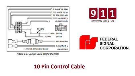 federal pa 300 wiring harness federal signal siren wiring