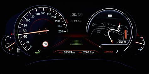 Bmw 1er F20 Digitale Geschwindigkeitsanzeige by Foto Bmw 750li Multifunktionales Instrumentendisplay
