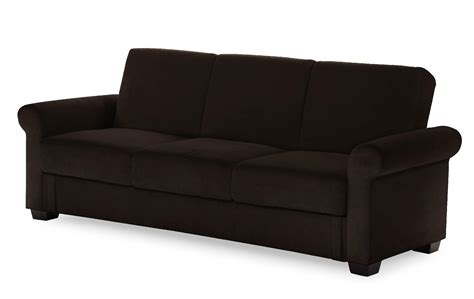 Serta Dream Tivoli Convertible Sofa Java Home Serta Sleeper Sofa Mattress