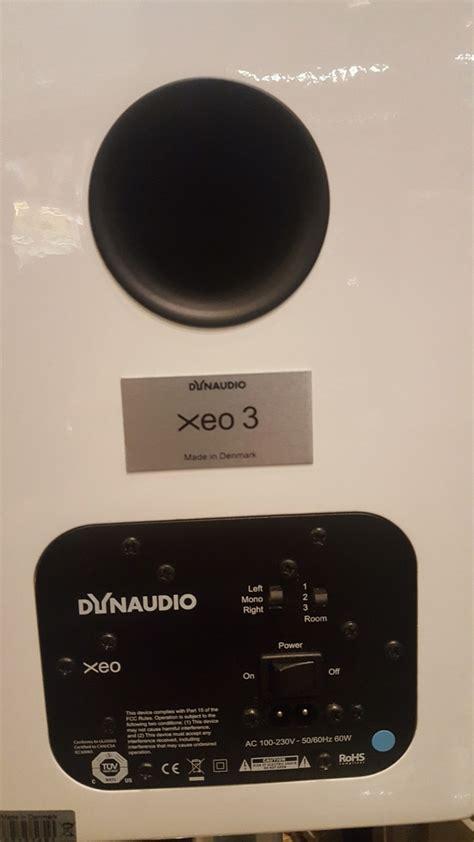Dynaudio Xeo 3 Wireless Speakers dynaudio xeo 3 wireless speaker sold