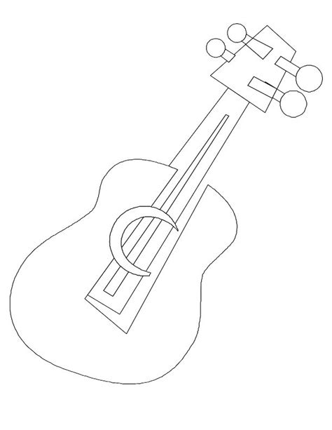 guitar templates uk free coloring pages of guitar template