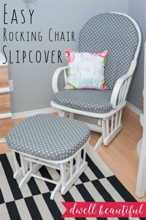 slipcovered rocking chair how to sew a rocking chair slipcover chair slipcovers
