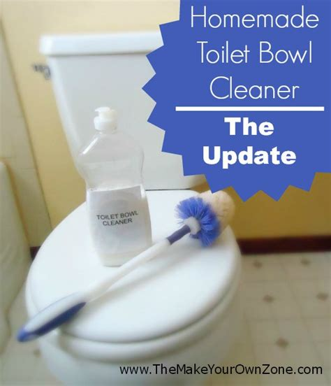 can you use toilet bowl cleaner on a bathtub homemade toilet bowl cleaner the update