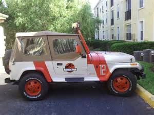 Jeep From Jurassic Park Ebay Find Of The Day Jeep Wrangler Jurassic Park Edition