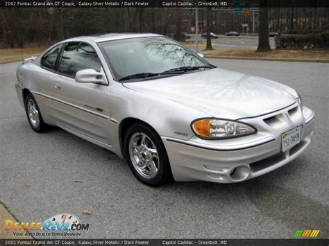 Pontiac Grand Am Gt 2002 by 2002 Pontiac Grand Am Gt Coupe Galaxy Silver Metallic