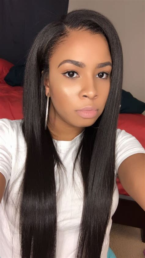 closure weave styles straight sew in weave hairstyles www imgkid com the