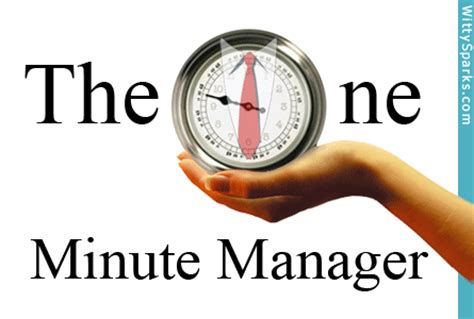 the one minute manager management tips from quot the one minute manager quot witty sparks