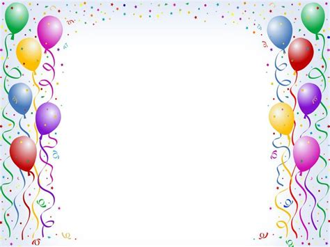 Birthday Backgrounds Wallpaper Cave Free Printable Birthday Borders And Frames