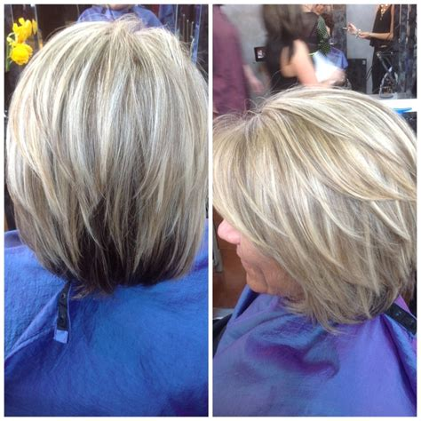 images of highlights on short gray hair pics for gt platinum blonde highlights on grey hair