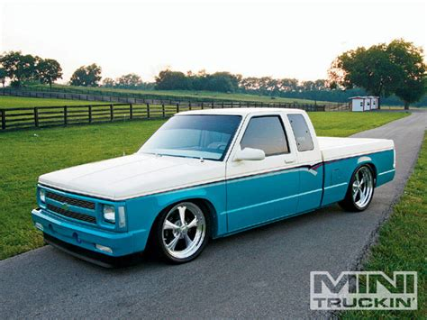 1992 chevy s10 left side view photo 1