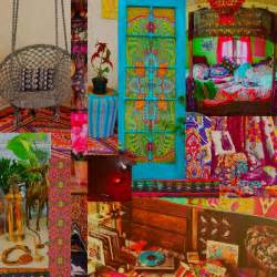 Boho Style Home Decor by Illustrated Moodboard Boho Home Inspiration And Shopping