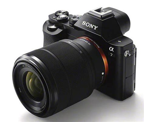 sony a7 best lens sony a7 a7r size images now availabe news