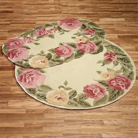 roses rug roses oval rug