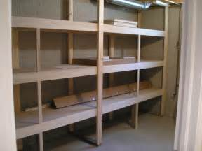 Finished Basement Storage Ideas Basement Shelving Ideas Homesfeed
