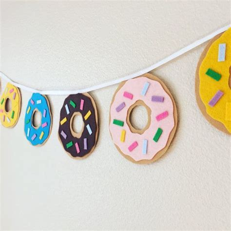 Cheap Duvet Sets Uk Donut Banner Party Felt Donuts By Buntingseas On Turquoise