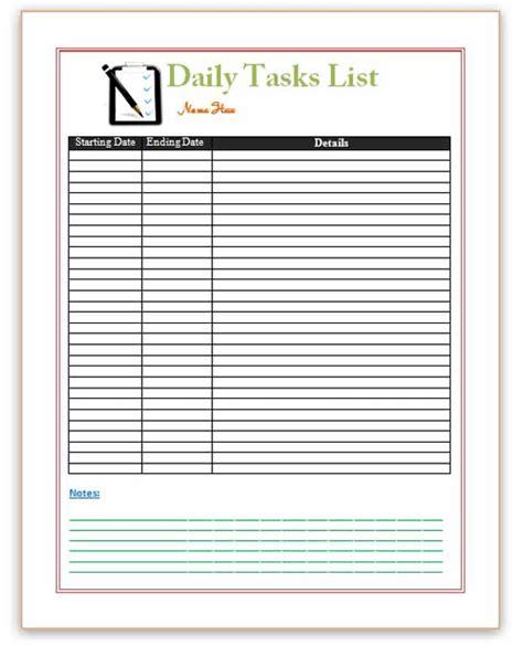 to do list template word task list templates soohongp