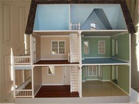 Dollhouse Plans Victorias Farmhouse Floor Plan Idea