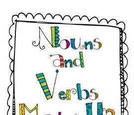 for nouns and verbs