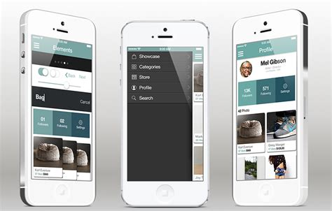image gallery ios app template