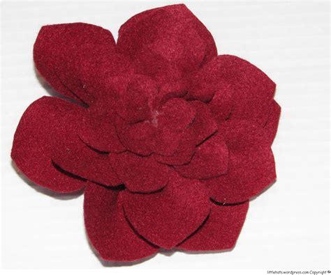 fiori di feltro schemi fiori di feltro prototipo littlehats co