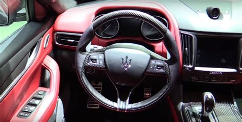 maserati suv interior 2017 maserati debuts its first ever suv maserati levante 2017