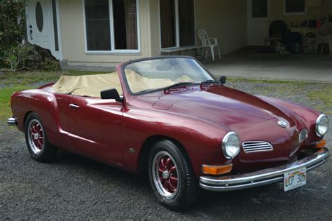 karmann volkswagen 1967 vw karmann ghia convertible