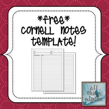 best 25 cornell notes ideas on pinterest middle college