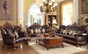 wholesale high end antique sofa living room wooden