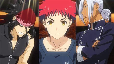 no soma food wars shokugeki no soma ni no 07 anime evo
