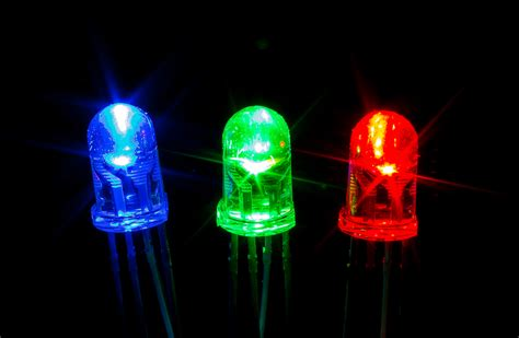 Led Rgb 5mm Clear Common Cathode upgrade industries 25x rgb 5mm clear led common cathode