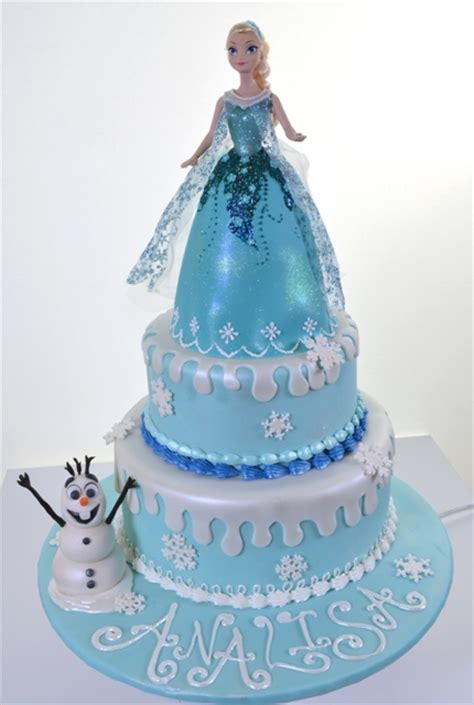 Birthday Decorations At Home Photos frozen cake