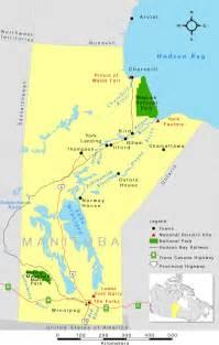 map of manitoba wapusk national park