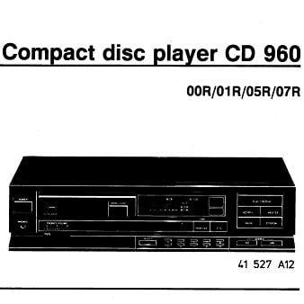 lade philips philips cd960 cd speler lade snarenset mfbfreaks