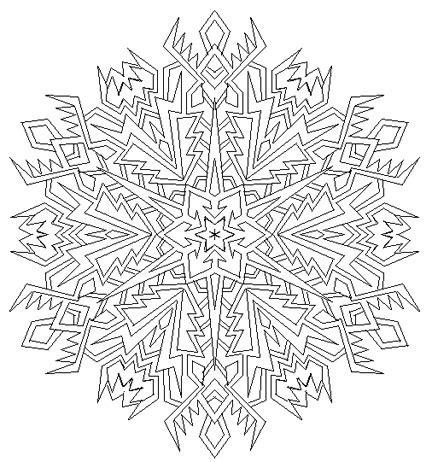 snowflake mandala coloring pages snowflake mandala by mandalamama on deviantart