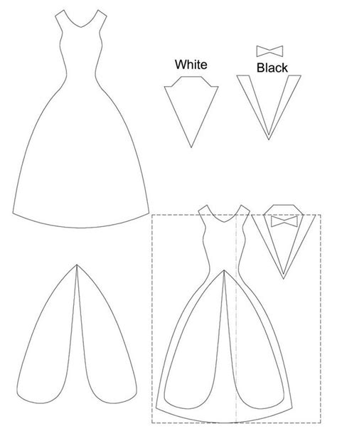 wedding dress template for cards wedding nail designs wedding card template 2060896