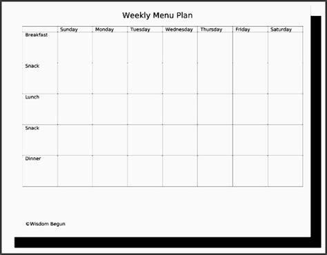 cing menu planner template 7 printable weekly meal planner sletemplatess