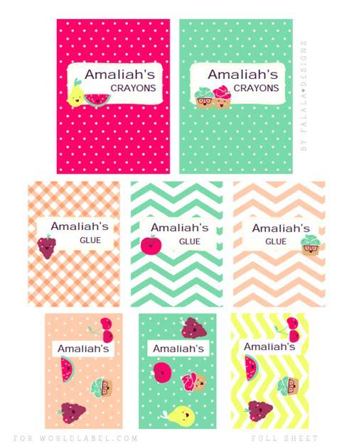 label design tumblr back to school labels by falala designs worldlabel blog