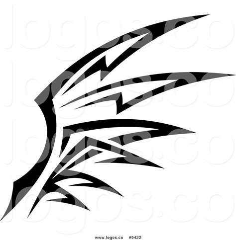 Tribal Wings Clipart 55 Tribal Graphics Vector