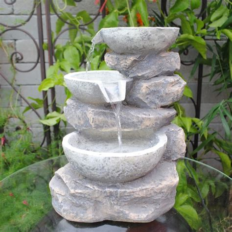 polyresin tabletop fountain feng shui home pinterest polyresin and fiberglass tiered multi bowls tabletop fountain