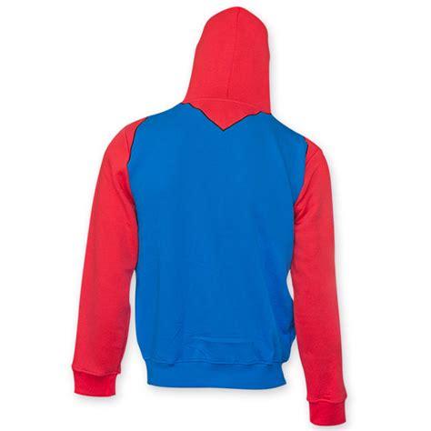 Hoodie Mario Bros Merah 2 nintendo mario bros mario costume hoodie