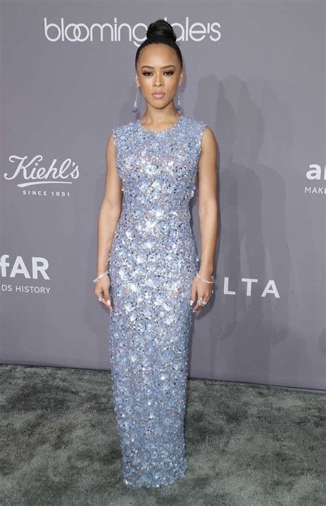 Amfar At Ciprianis by Serayah At 2018 Amfar Gala New York At Cipriani Wall