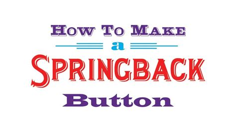 how to make a batton how to make a button with a lock pin