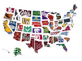 map the most underrated college in every state business